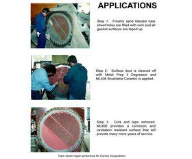 ML406 Brushable Ceramic Tube Sheet Repair