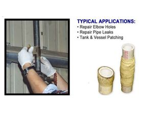 ML450 Seal-Skin Pipe Repair