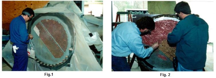 Tube sheet repair