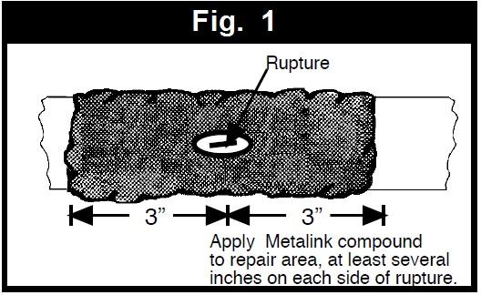 pipe leak repair