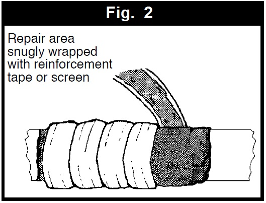 pipe leak repair wrap