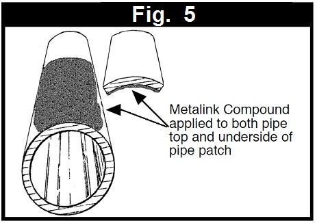 pipe leak repair patch metalink