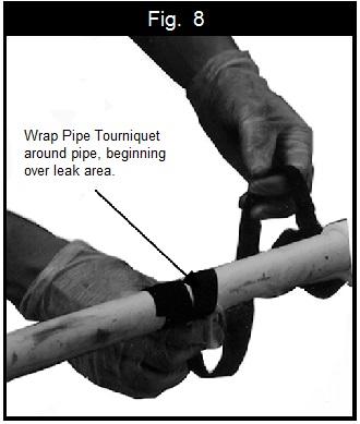 pipe tourniquet leak repair